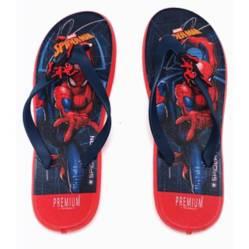 Sandalia tres puntadas spiderman azul