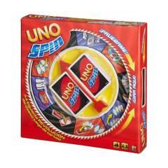 Mattel Games - UNO Cartas Spin