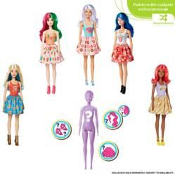 Barbie - Barbie Color Reveal Pack de Comida