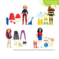Dc Comics - Dc Super Hero Girls Transformación 2 en 1