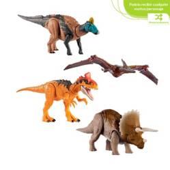 Jurassic World - Jurassic World Surtido de Dinosaurios Ruge & Ataca