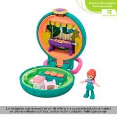 Polly Pocket - Muñeca Polly Pocket Mini Estuches Parrillada Divertida