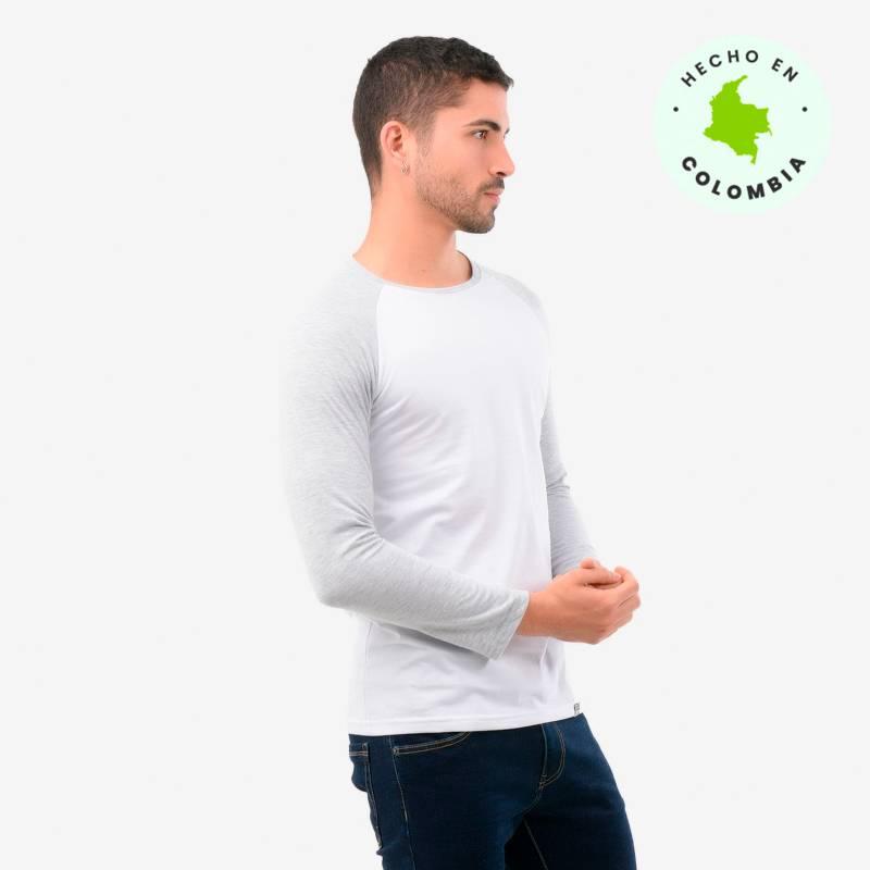 Denimlab - Camiseta Hombre Manga Larga Denimlab