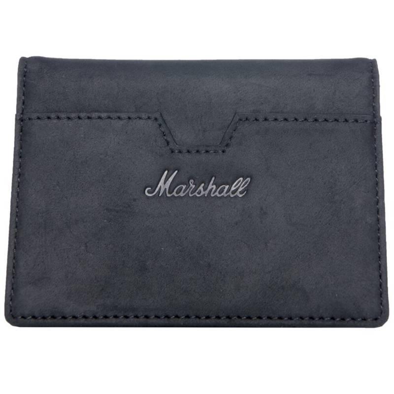 Marshall - Billetera Marshall Sueadhead Black