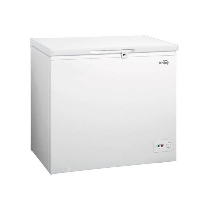 Kalley - Congelador horizontal kalley 198 litros blanco k-ch19