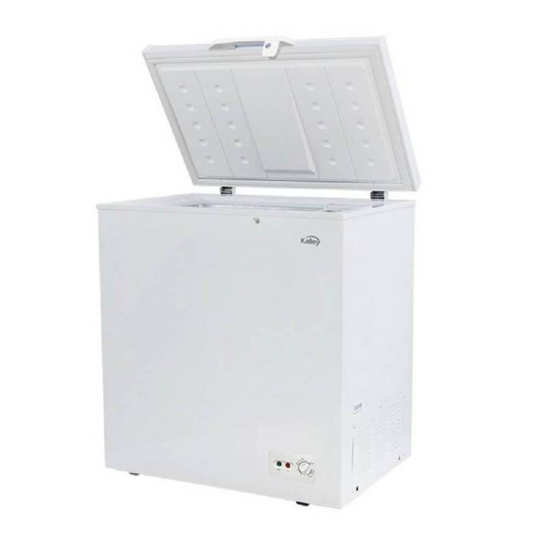 Kalley - Congelador kalley k-ch142l horizontal 142 litros