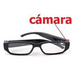 Danki - Gafas cámara espía oculta mini recargable micrófono