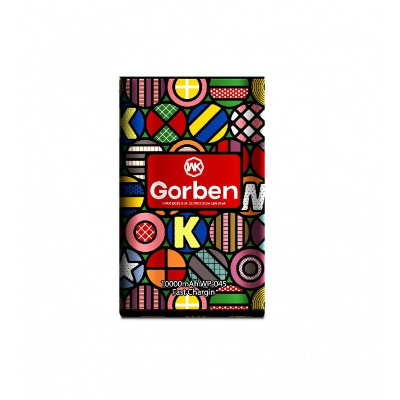 WK DESIGN - Batería externa powerbank cargador 10000mah gorben