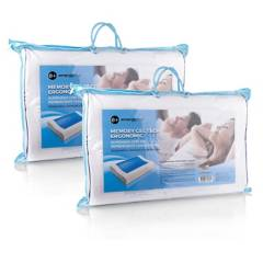 Energy Plus - 2 almohadas gel ortopédica memoria energy plus