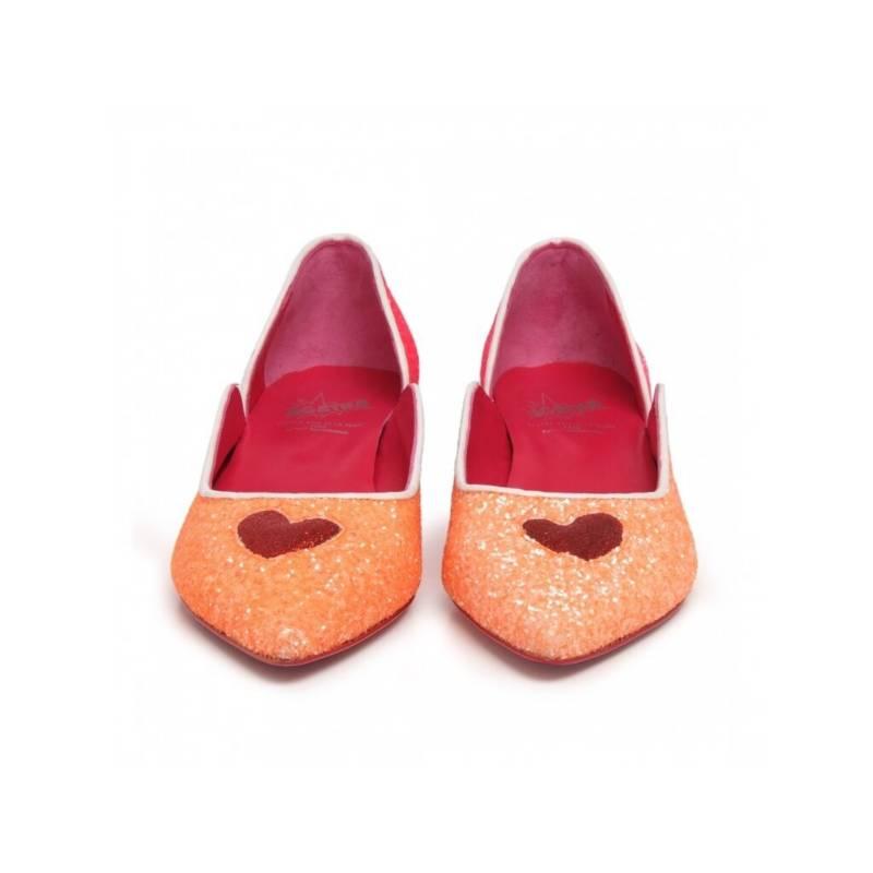 Agatha Ruiz de la Prada - Bailarina Naranja Glitter