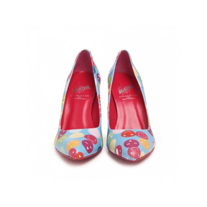 Agatha Ruiz de la Prada - Zapatos casuales Azul Caritas