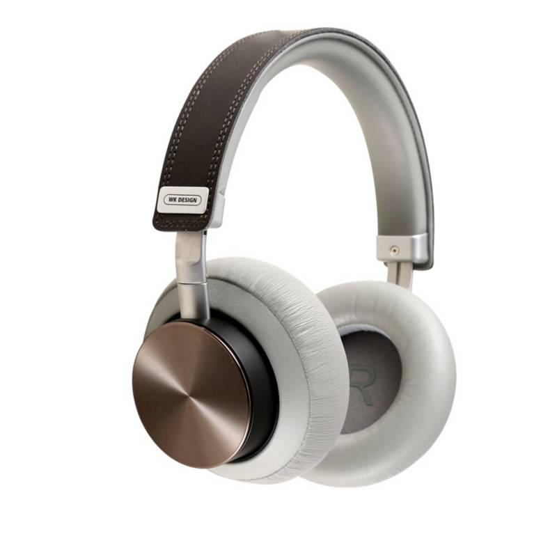 WK DESIGN - Audífonos Bluetooth diadema over ear bh800