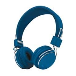 Trystart - Audífonos diadema alámbrico trust ziva azul