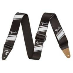 Fennecs - Correa guit nylon competition stripe silver fender