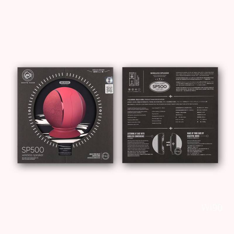 WK DESIGN - Parlante Bluetooth Sp500 Tws