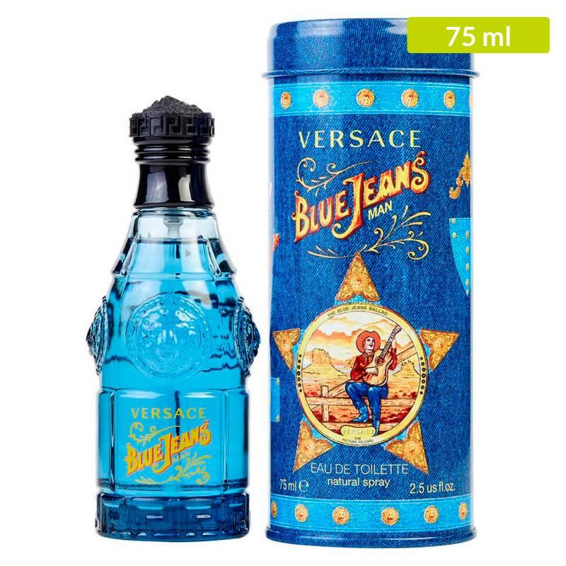 Versace - Perfume Versace Blue Jeans EDT Hombre 75 ml