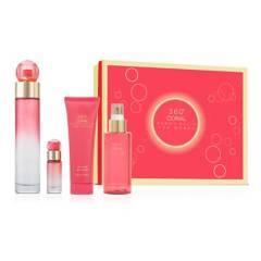 PERRY ELIS PERFUMERIA - Set de Perfume Perry Ellis 360 Coral Wom Mujer