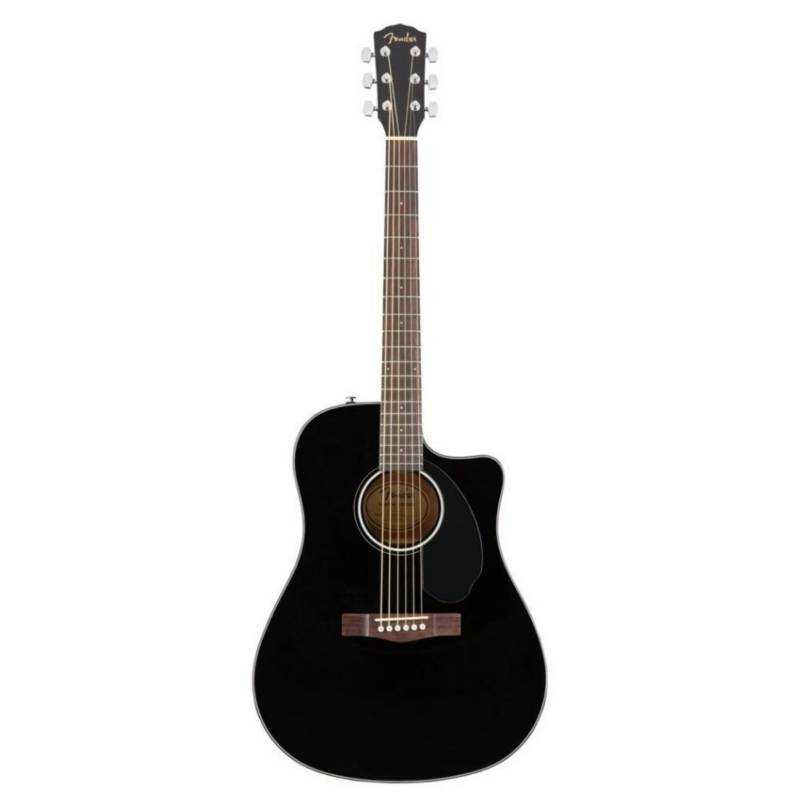 Fender - GUITARRA ACUSTICA CD-60SCCE BK  0970113006 FENDER