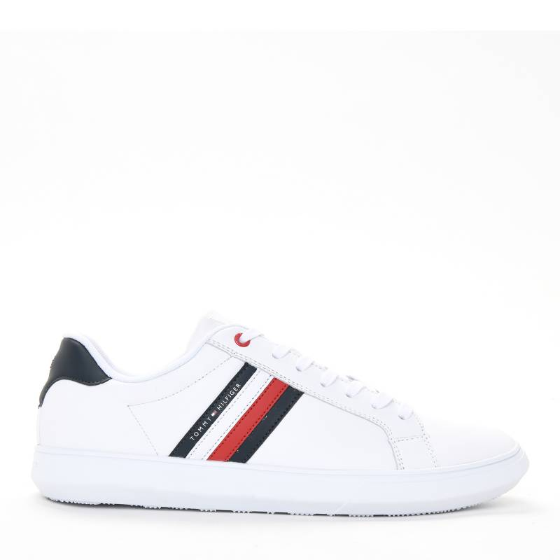 Tommy Hilfiger Tenis Tommy Hilfiger Hombre Moda Essential Leather Cupsole Falabella Com
