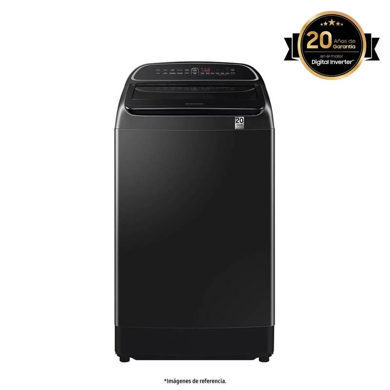 Samsung - Lavadora Samsung Carga Superior 19 kg WA19T6260BV/CO