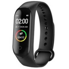 Danki - Reloj Monitor Inteligente Recorda Salud M4 Negro