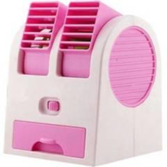 Danki - Aire Acondicionado Portátil Mini Fan Luz Pila