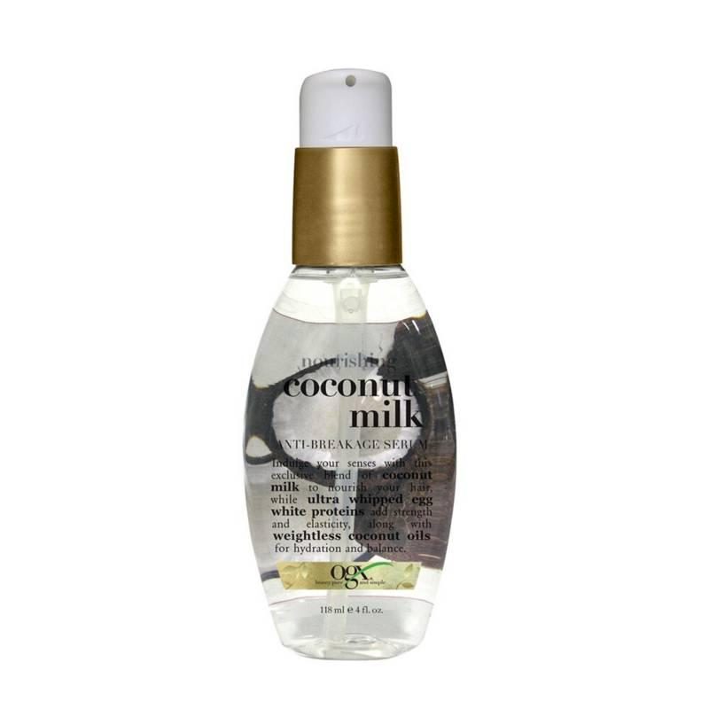 ORGANIX OGX - Serúm para el cabello Ogx coconut milk serum