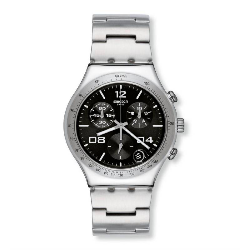 Swatch - Reloj Hombre Swatch Blustery Black YCS564G