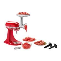 kitchenAid - Molino y Embutidor de Carnes Metálico KitchenAid