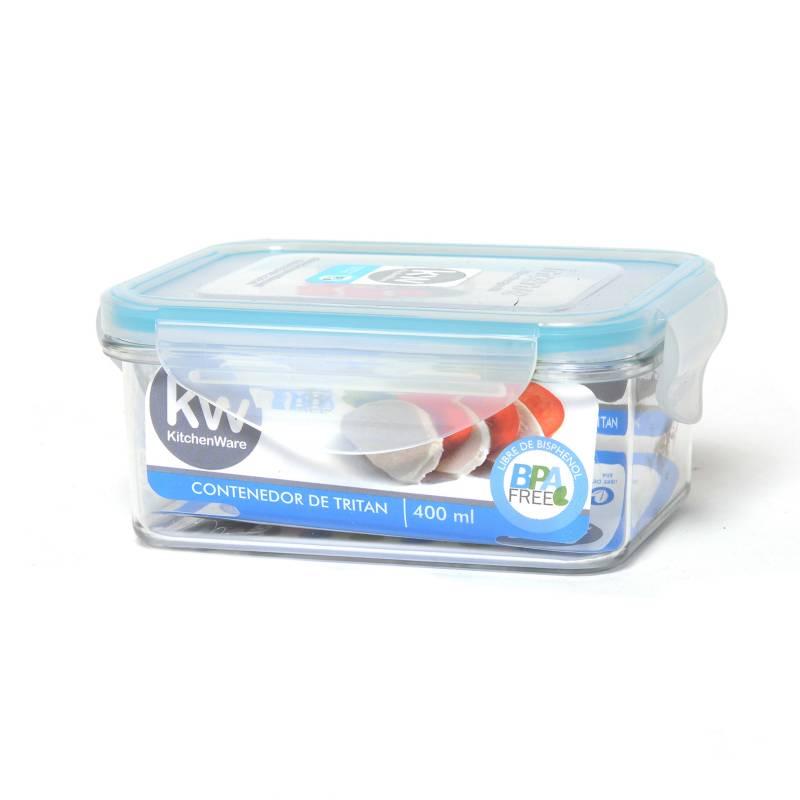 Kw - Contenedor Rectángular 400 ml