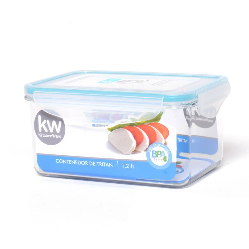 Kw - Contenedor Rectángular 1.2 ml