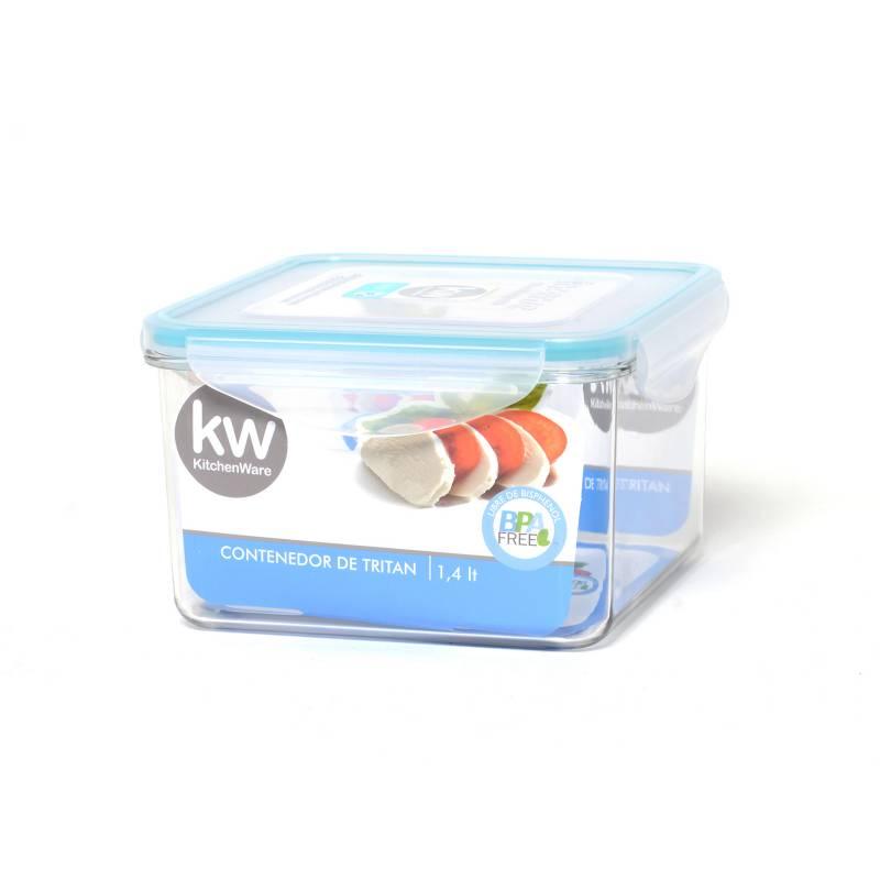 Kw - Contenedor Cuadrado 1.410 ml
