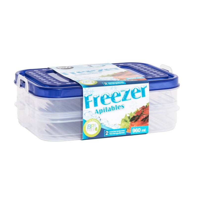 Kw - Contenedor Freezer 960 ml
