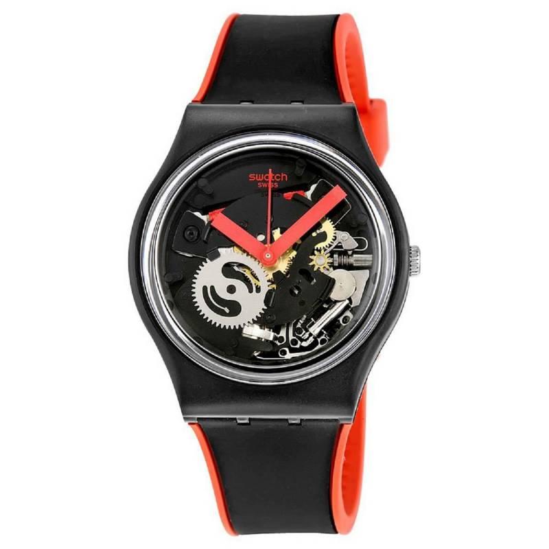 Swatch - Reloj Unisex Swatch Red Frame