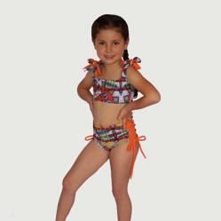 Doppia Swimwear - Vestido de Baño Niñas