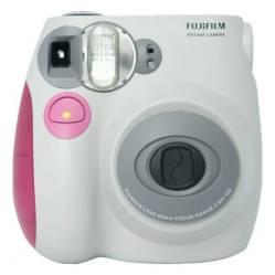 Fujifilm - Cámara Instax Mini 7S Rosa CN con Cargador