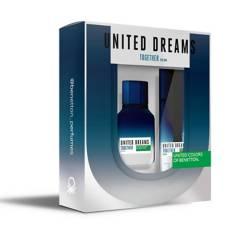 Benetton - Set Perfume Benetton United Dreams Together for Him Hombre 100 ml EDT + Desodorante 150 ml