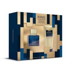 Antonio Banderas - Set Perfume Antonio Banderas King of Seduction Hombre 50 ml EDT + Crema para después de Afeitar 75 ml