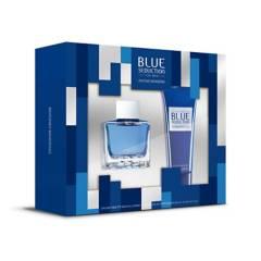 Antonio Banderas - Set Perfume Antonio Banderas Blue Seduction Hombre 100 ml EDT + Crema para después de Afeitar 75 ml