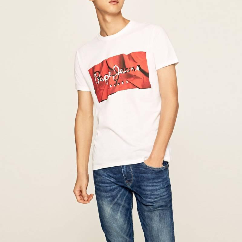 Pepe Jeans - Camiseta Hombre Manga corta Pepe Jeans