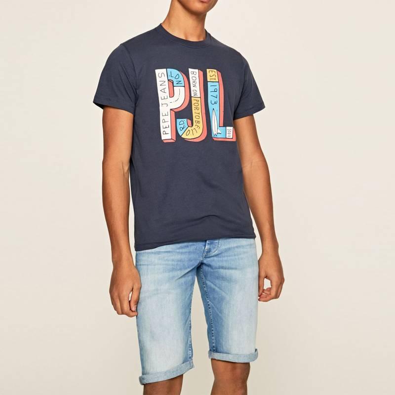 Pepe Jeans Camiseta Hombre Manga Corta Pepe Jeans Falabella Com