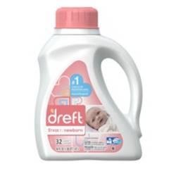 DREFT - Detergente líquido para recien nacidos 1.47l