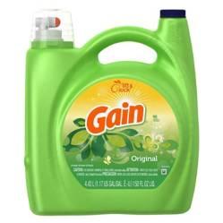 Gain - Detergente líquido de ropa gain original