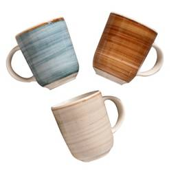 Corona - Set x3 Mugs Caoba