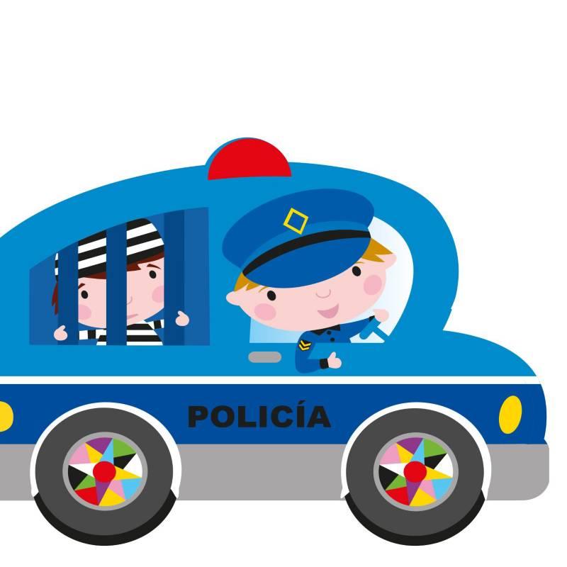 Grupo sin fronteras - Carro de policía