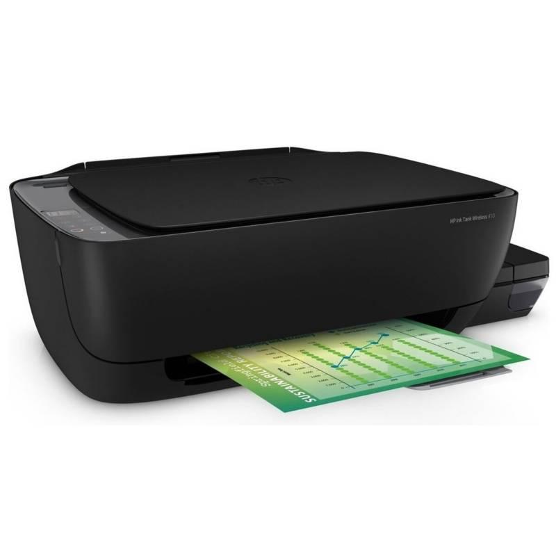 HP - Impresora Multifuncional Hp Ink Tank 410w Wireless