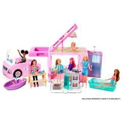 Barbie - Barbie Cámper de los Sueños 3 en 1