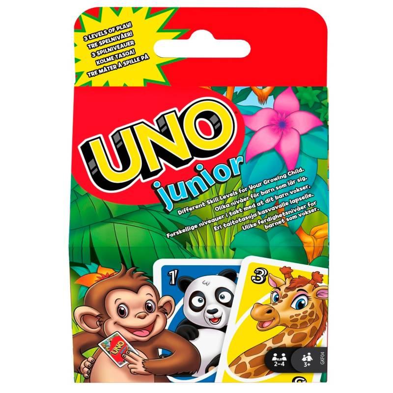 Mattel Games - Juego de carta Mattel Games UNO Junior