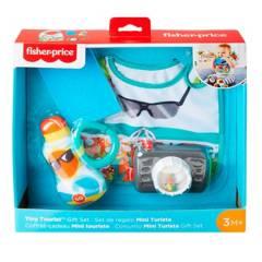 Fisher Price - Juguete de bebé Fisher Price Set de Regalo Mini Turista