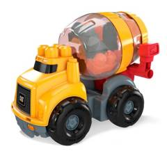 Mega Bloks - Mega Bloks Cat Camión 10 Bloques